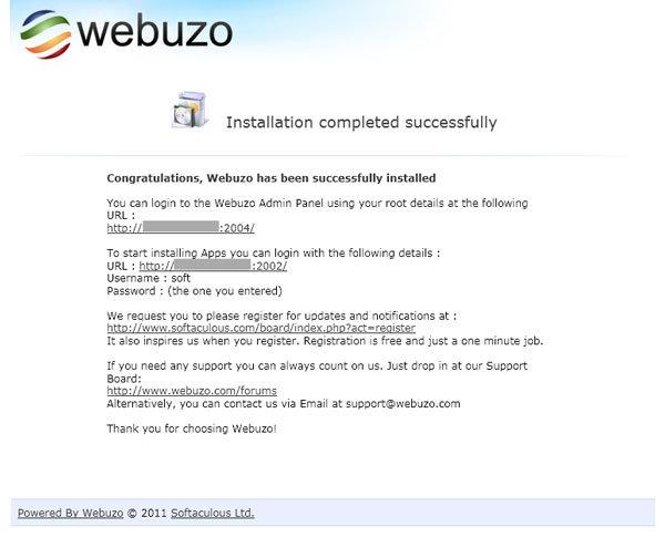 Install3-webuzo