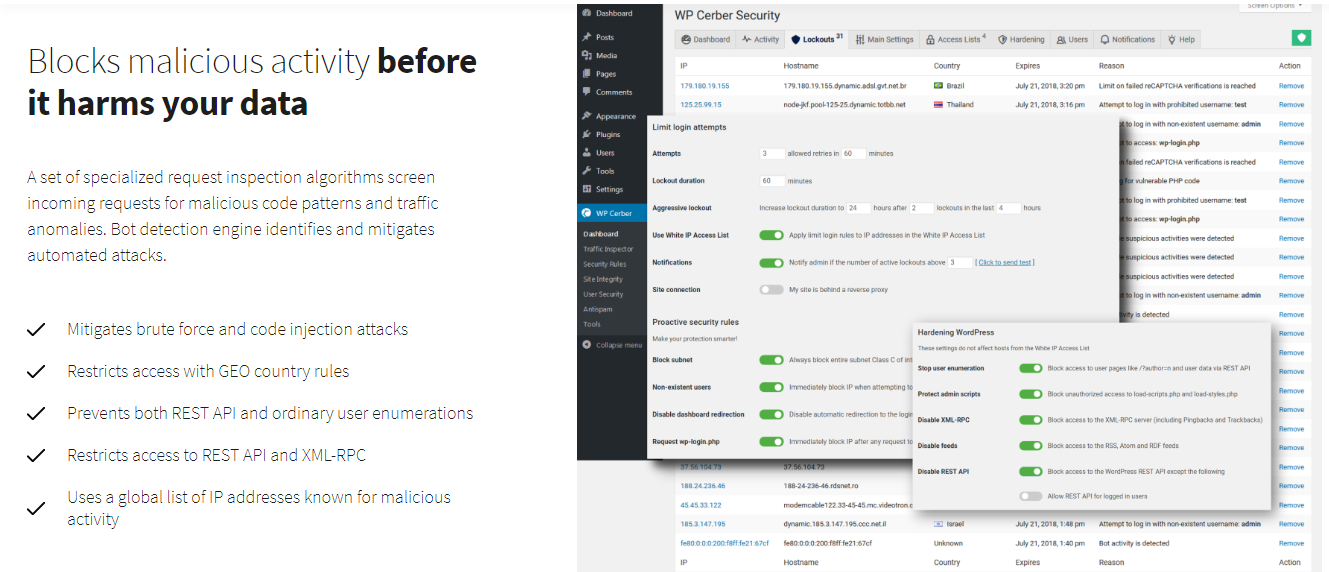Plugin Security WordPress  Terbaik